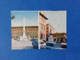 FIGURINA TUTTA ITALIA N. 102 EDIZIONI FOL BO - MASSA PIAZZA ARANCI CARRARA PIAZZA RISORGIMENTO - Stickers