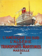 @@@ MAGNET - Transports Maritimes - Publicitaires