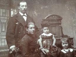 DEUTSCHE FAMILIE DAZUMAL - 33 - BERGEDORF - EDUARD STOCK - 1887 - Identifizierten Personen