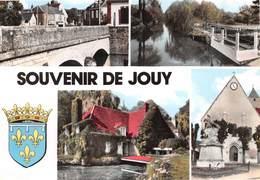 Jouy - Souvenirs - Eglise - Pont - Monument Aux Morts - Blason - Jouy