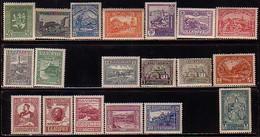 BULGARIE - 1917-1921 Occup. De Macédoine (I + II + III + IV Numéro + Timbre Manquant Sur Le Chat.Yv - 109/114A +115/16** - 1909-45 Reino