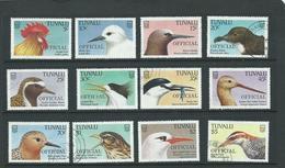 Tuvalu Birds Officials Vfu Range Sgo35 - Tuvalu