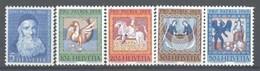 1965 Svizzera, Pro Patria, Serie Completa Nuova (**) - Pro Patria