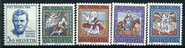 1966 Svizzera, Pro Patria, Serie Completa Nuova (**) - Nuovi