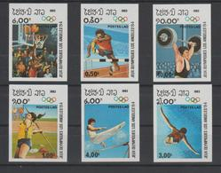 LAOS  #IMPERF.   OLYMPIC GAMES 1984    ** MNH  VF - Summer 1984: Los Angeles