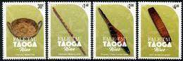 NIUE - 2018 - Artisanat Ancien Musée De Niue - 4 Val Neufs // Mnh - Niue