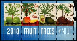 NIUE - 2018 - Fruits Tropicaux De Niue - BF Neufs // Mnh - Niue