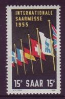 Saarland 359 Freimarke 15 Fr Postfrisch  - Ohne Zuordnung