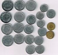 Türkei  20 Münzen Um 1970  VZ  #m179 - Turquie