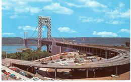 POSTAL    NEW YORK  -EE.UU.  -GEORGES WASHINGTON BRIDGE - Manhattan