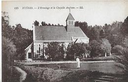 Hyeres. Partie De Croquet à L'Ermitage Devant La Chapelle Anglaise. - Hyeres