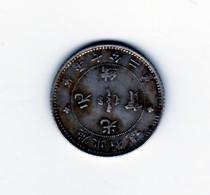 10 Cents (72 Candareens) Chine Non Daté KWANG TUNG Provinces (1890-1908)  TTB+ Argent - Chine