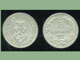 BULGARIE 5 Stotinki 1913 - Bulgarie