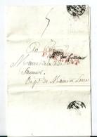 Lettre En Franchise De Paris / Liquidation Générale De La Dette Publique / Affranchi Par Etat  , An 9 / 1801 - Postmark Collection (Covers)
