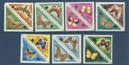 "Mali Taxe YT 21 à 34 "" Série Papillons Surchargés "" 1984 Neuf** - Mali (1959-...)"