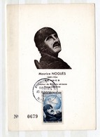 CM - Maurice NOGUÈQ 1951 - Maximum Cards