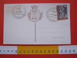 A.02 ITALIA ANNULLO - 1968 MANGO CUNEO RASSEGNA NAZIONALE CINOFILA CANE DOG - Cani