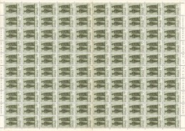 Katanga 0055 - 1,5F  Feuille / Sheet De 100 - Katanga