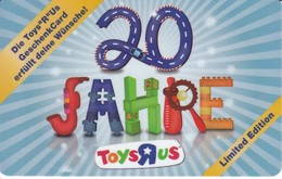 Geschenkkarte Toys Rus Gift - Gift Cards