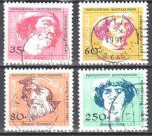 Portugal 1991 - Mi.1855-58 - Used - 1910-... República