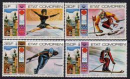 Comores N°138 / 41 XX Jeux Olympiques D'hiver, à Innsbruck Les 4 Val. Sans Charnière TB - Comores (1975-...)