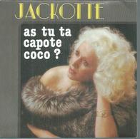 "45 Tours SP - JACKOTTE  - EC 102  "" AS TU TA CAPOTE COCO ? "" + 1 - Vinyles"