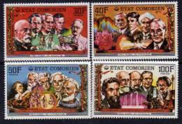 Comores N°187 / 90 XX Prix Nobel Les 4 Valeurs  Sans Charnière TB - Comoros