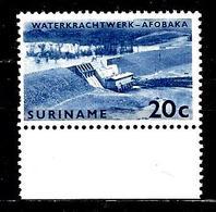 SURINAM 414** 20c Bleu  Complexe Hydroélectrique De Brokopondo Barrage - Surinam