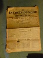 Journal Original La Croix Du Nord N°1 Du 6 Septembre 1944    WW2 - Journaux - Quotidiens