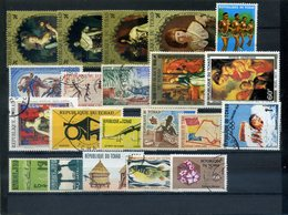 Lot De Timbres Neufs Et Oblitérés Différents De TCHAD - Tchad (1960-...)