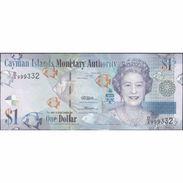 TWN - CAYMAN ISLANDS 38b - 1 Dollar 2010 Prefix D/2 UNC - Isole Caiman