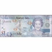 TWN - CAYMAN ISLANDS 38b - 1 Dollar 2010 Prefix D/2 UNC - Kaimaninseln