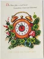 1980 New Year Greeting Card, Viel Glück Im Neuen Jahr, Used, Heidenheim - Souvenir De...