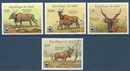 "Mali YT 538 à 541 "" Faune En Danger, "" 1986 Neuf** - Mali (1959-...)"