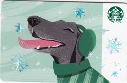 USA STARBUCKS - Winter Dog Treats , CN : 6157 - Gift Cards