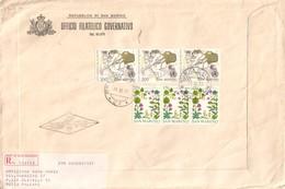 1977 SAN MARINO - REUMATISMO + ERBORISTERIA - FDC RACCOMANDATA. - FDC