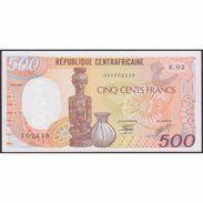 TWN - CENTRAL AFRICAN REPUBLIC (Républic) 14c - 500 Francs 1.1.1987 Prefix R.02 UNC - Centrafricaine (République)