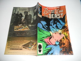 Beauty And The Beast (1984 Ltd ) N°3 Marvel Comics Amérique EN V O - Magazines
