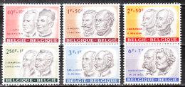 1176/81**  Personnalités Belges - Série Complète - MNH** - Vendu à 10% Du COB!!!! - Belgique
