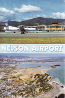 New Zealand, Nelson Airport, Airplane, Mint - Nouvelle-Zélande