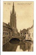 CPA - Cartes Postales - BELGIQUE Brugge - Musée De Guuthuse Et Notre Dame  - S3901 - Brugge