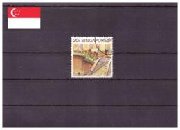 Singapour 1990 - Oblitéré - Tourisme - Ponts - Michel Nr. 600A (sin008) - Singapour (1959-...)