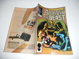 Beauty And The Beast N° 4 ( X-Men , V.O. 1984 ) ** Cover Sienkiewicz ** EN V O - Magazines