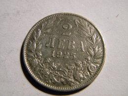 BULGARIE - 2 LEVA 1925 - Bulgarie