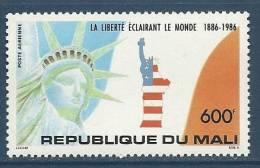 "Mali Aerien YT 511 (PA) "" Statue De La Liberté "" 1986 Neuf** - Mali (1959-...)"