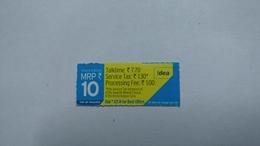 India-idea-talking770-card-(32j)-(mrp 10-)-(17777685918)-(bangalore)-()-card Used+1 Card Prepiad Free - India