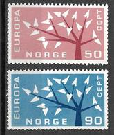 8L-877: N° 433/4: Postfris: XXX  Europa - Norvège