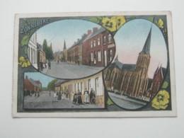 ZONNEBEKE     ,  Carte Postale   1915 - Zonnebeke