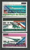 "Mali Aerien YT 520 à 522 "" Concorde "" 1986 Neuf** - Mali (1959-...)"