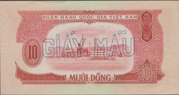 N .VIETNAM  1958  SPECIMEN BANKNOTE  10 Dong  Pick N°74  Note N° 4051  AU  See 2 Scans - Viêt-Nam